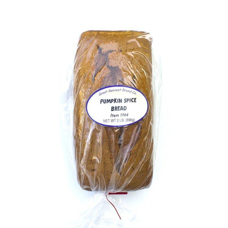 Great Harvest Pumpkin Spice Bread