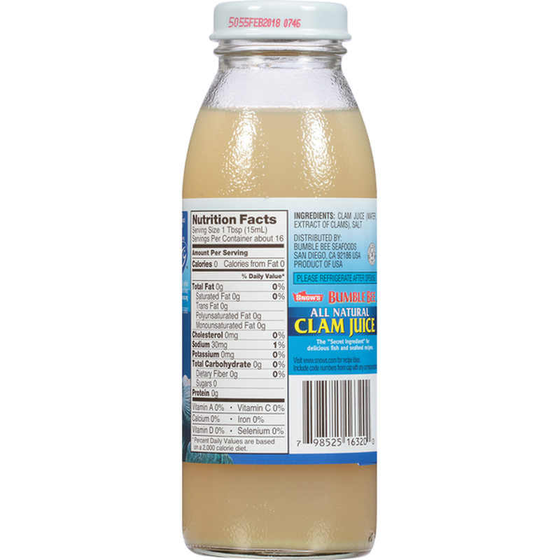Bumble Bee Clam Juice, All Natural