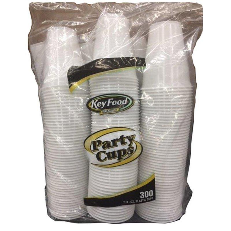 Key Food Cups Plastic Cold 7oz