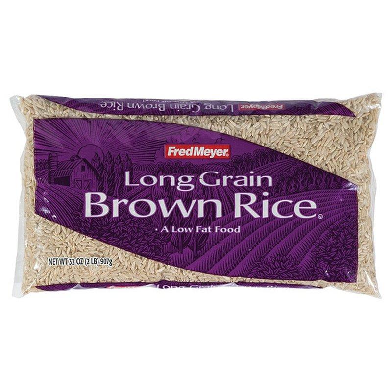 Fred Meyer Long Grain Brown Rice