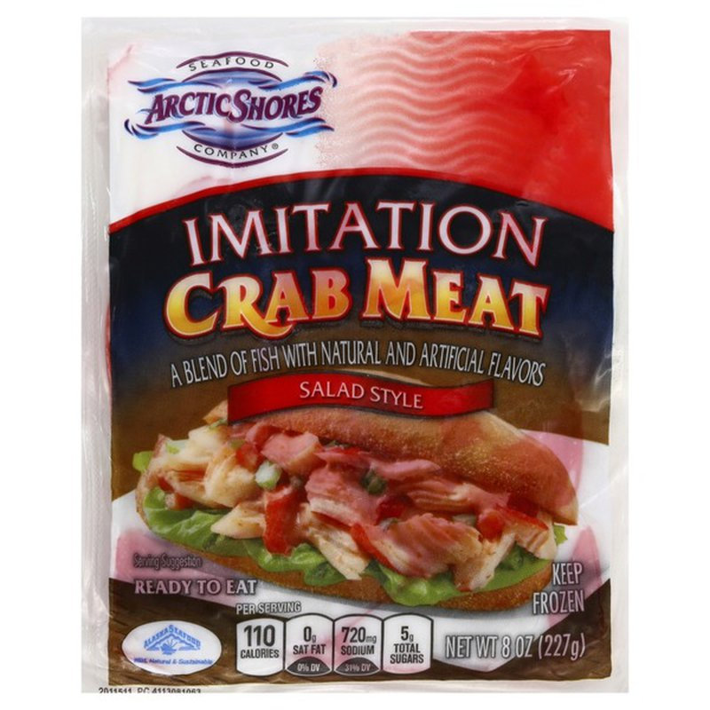 Arctic Shores Imitation Crab Meat Salad Style