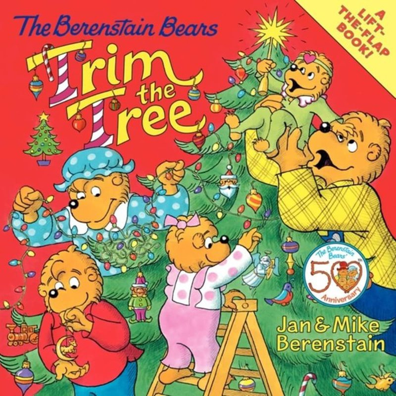 HarperCollins The Berenstain Bears Trim the Tree Paperback