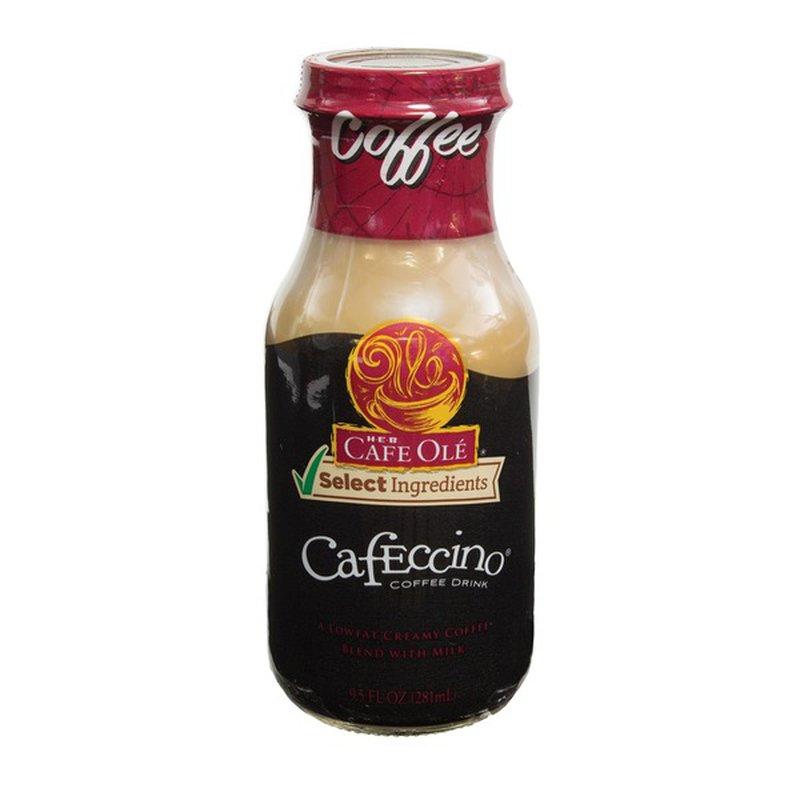 H-E-B Cafe Ole Coffee Cafeccino