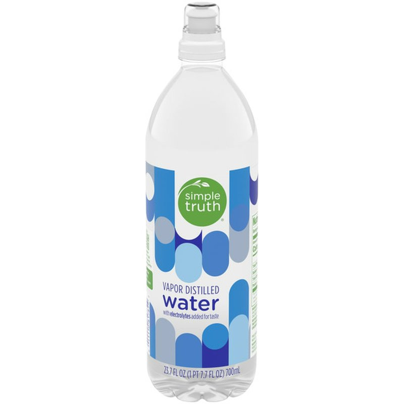 Simple Truth Vapor Distilled Water With Electrolytes