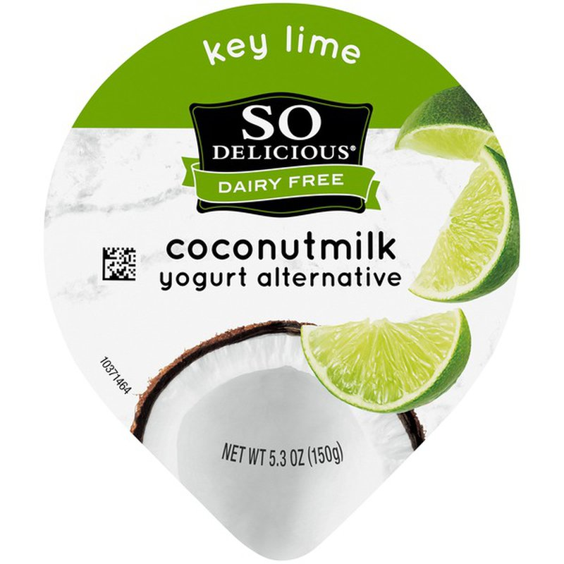 So Delicious Dairy Free Coconut Milk Yogurt Alternative Key Lime