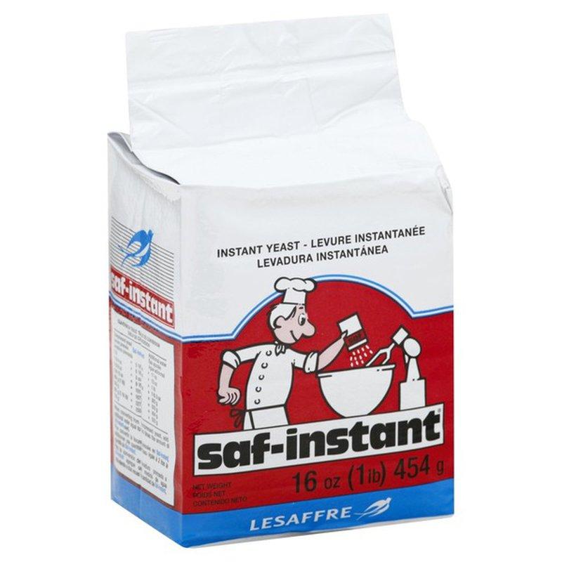 Saf Instant Yeast Instant 16 Oz Instacart