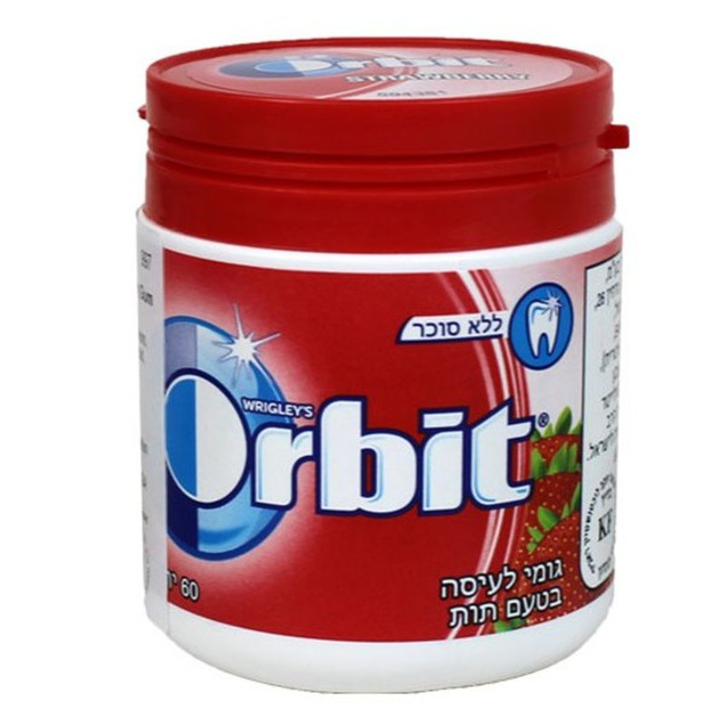 Orbit Quality Strawberry Bottle