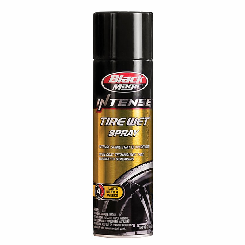 Black Magic Intense Tire Wet Spray