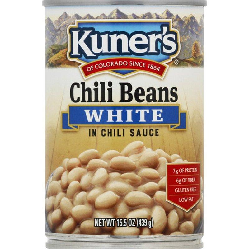 Kuner's White Chili Beans in Chili Sauce