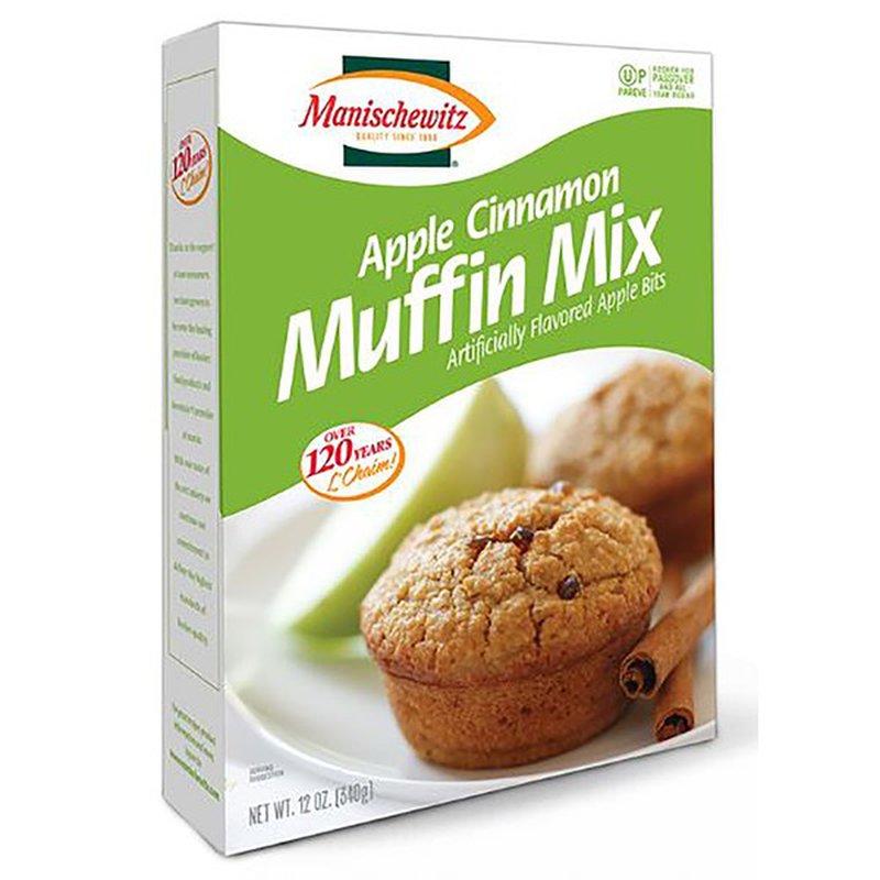 Manischewitz Muffin Mix With Real Apples