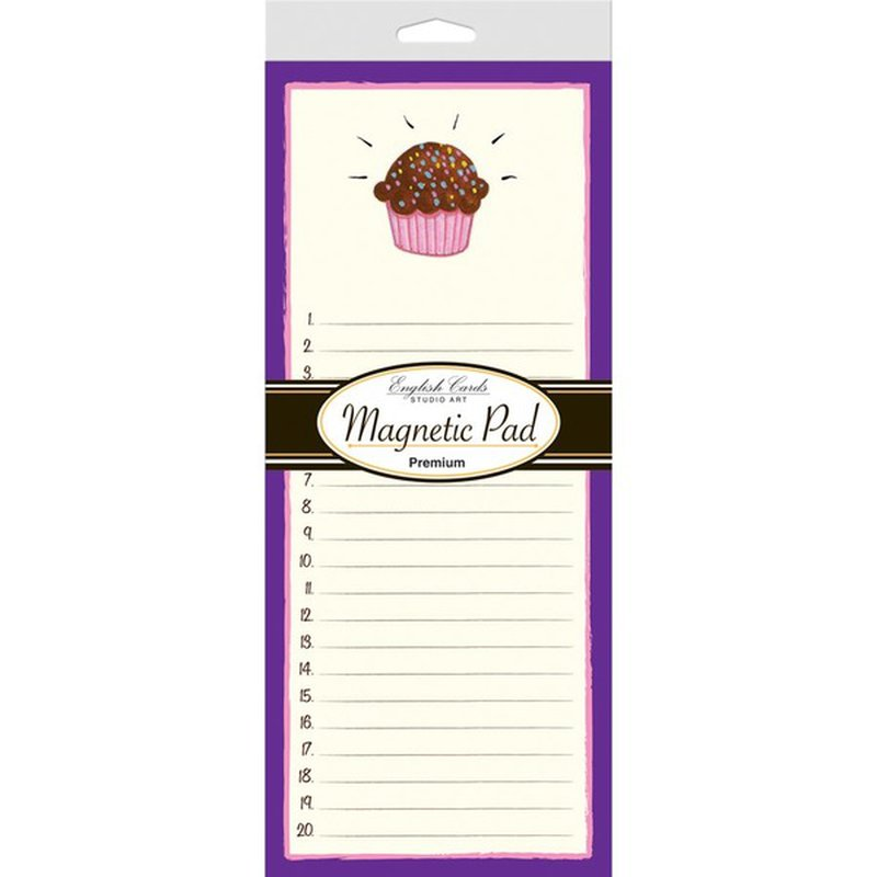 Dmc Enterprise Magnetic Note Pad 80 Sheets