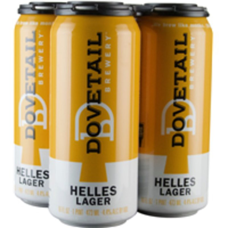 Dovetail Brewery Helles Lager
