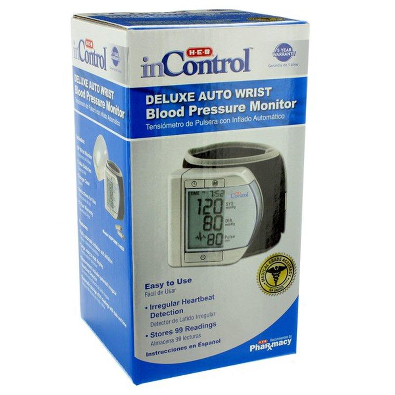 H-E-B Wrist Blood Pressure Monitor