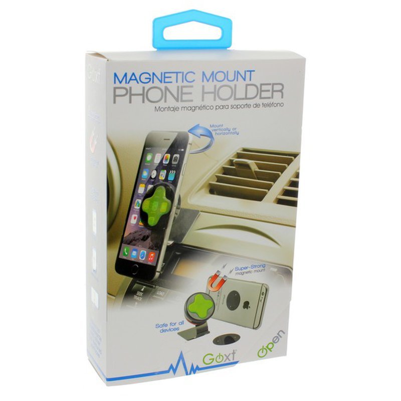 GOXT Magnet Phone Mount Dash-Mount Phone Holder/Charger Combo