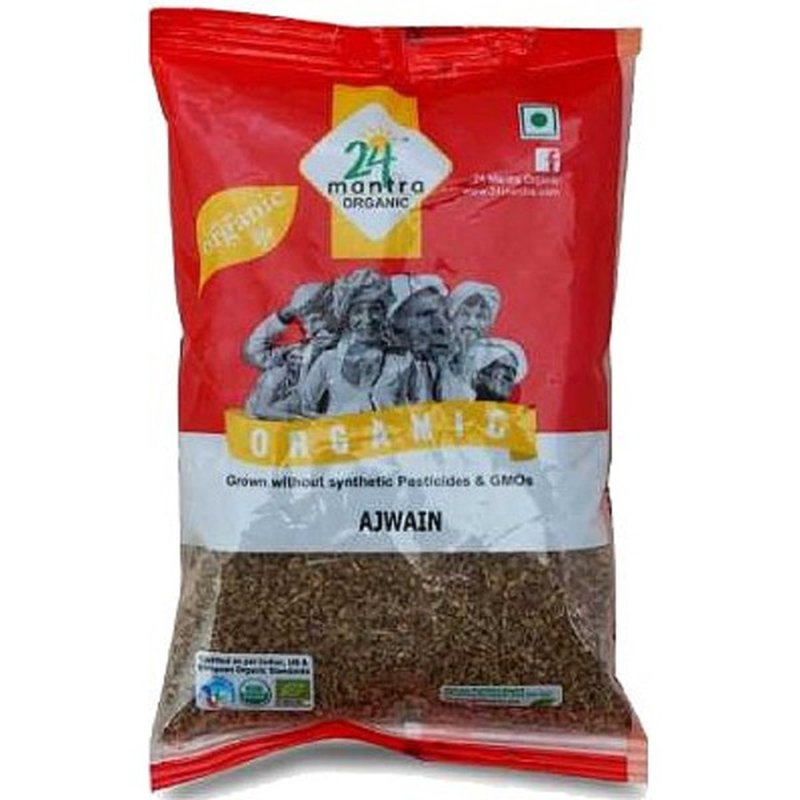 24 Mantra Organic Ajwain Seeds