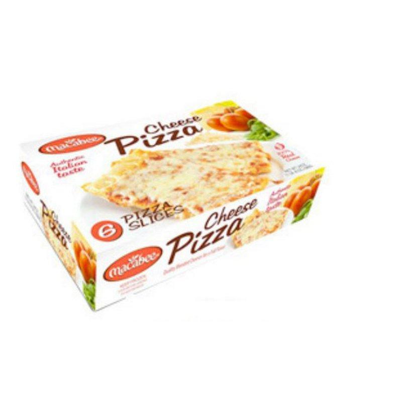Macabee Square Slice Cheese Pizza
