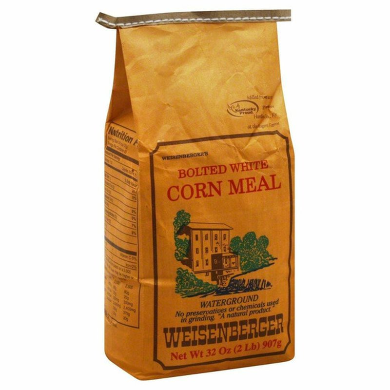Weisenberger Corn Meal, Bolted White
