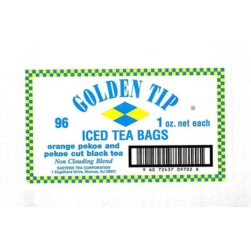 Golden Tip Iced Tea Bags