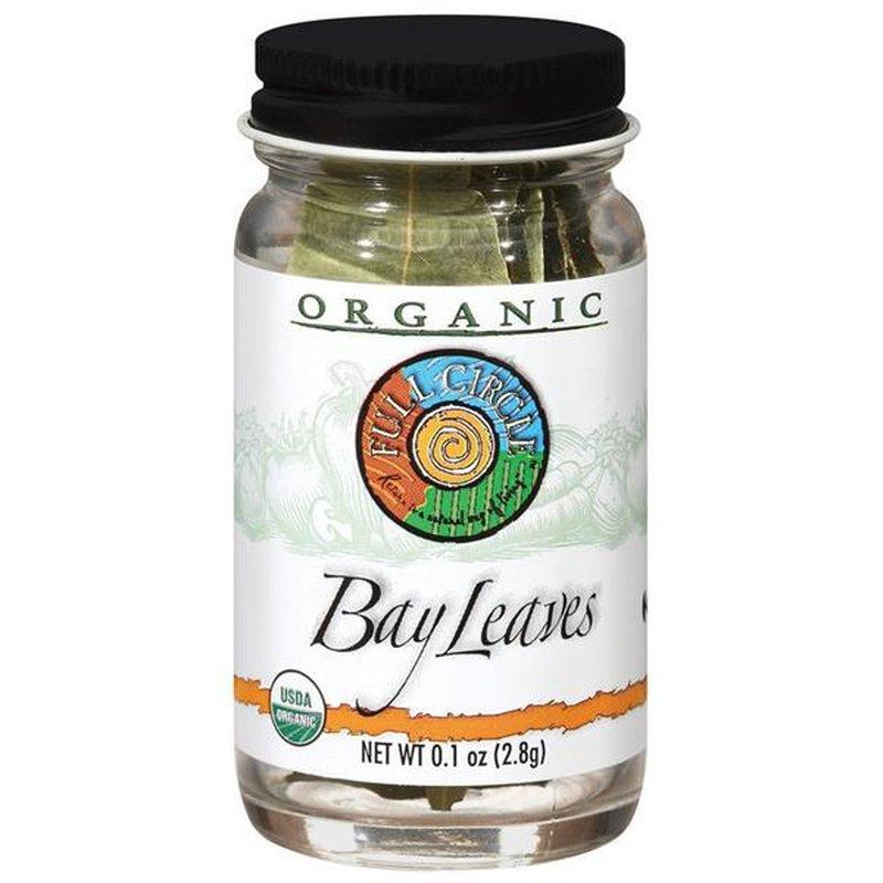 Full Circle Organic Bay Leaves Jar