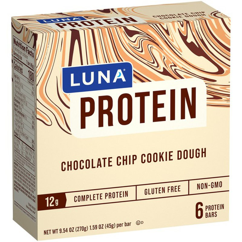 Luna Protein Chocolate Chip Cookie Dough