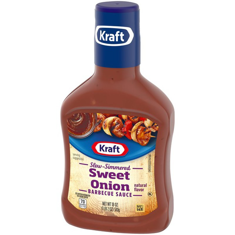 Kraft Slow-Simmered Sweet Onion Barbecue Sauce (18 oz