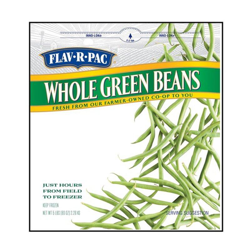 Flav-R-Pac Whole Green Beans