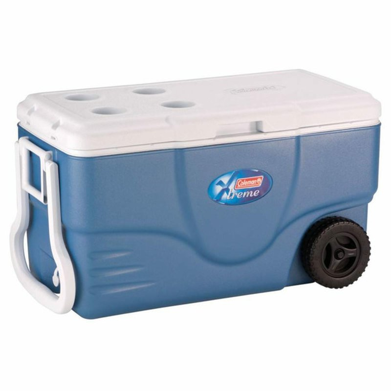 Coleman 62 Quart Blue Xtreme 5 Wheeled Cooler