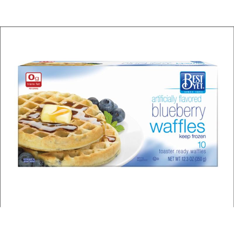 Best Yet Blueberry Waffles