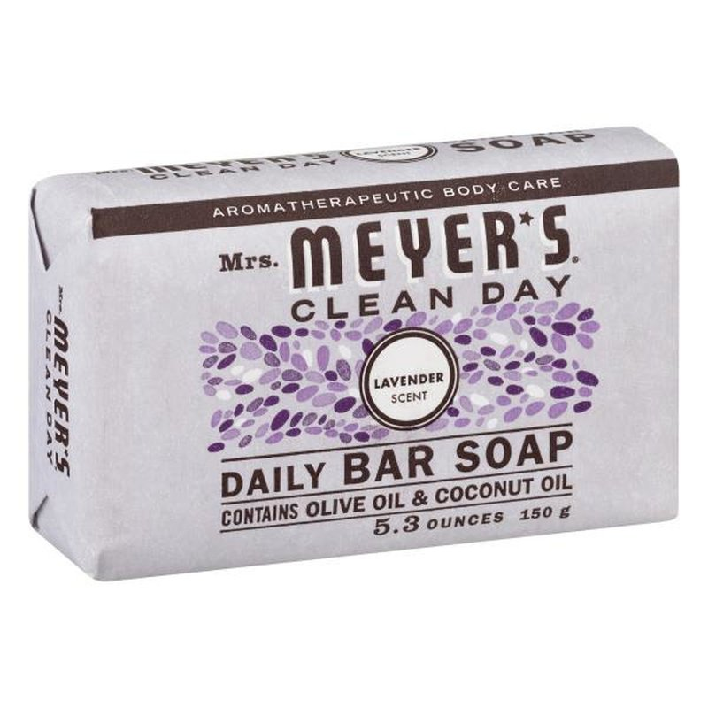 Mrs Meyers Clean Day Lavender Scent Daily  Bar Soap