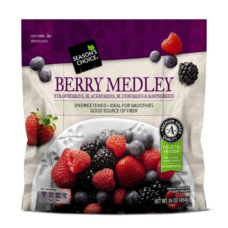 Season's Choice Berry Medley Strawberries, Blackberries, Blueberries & Raspberries