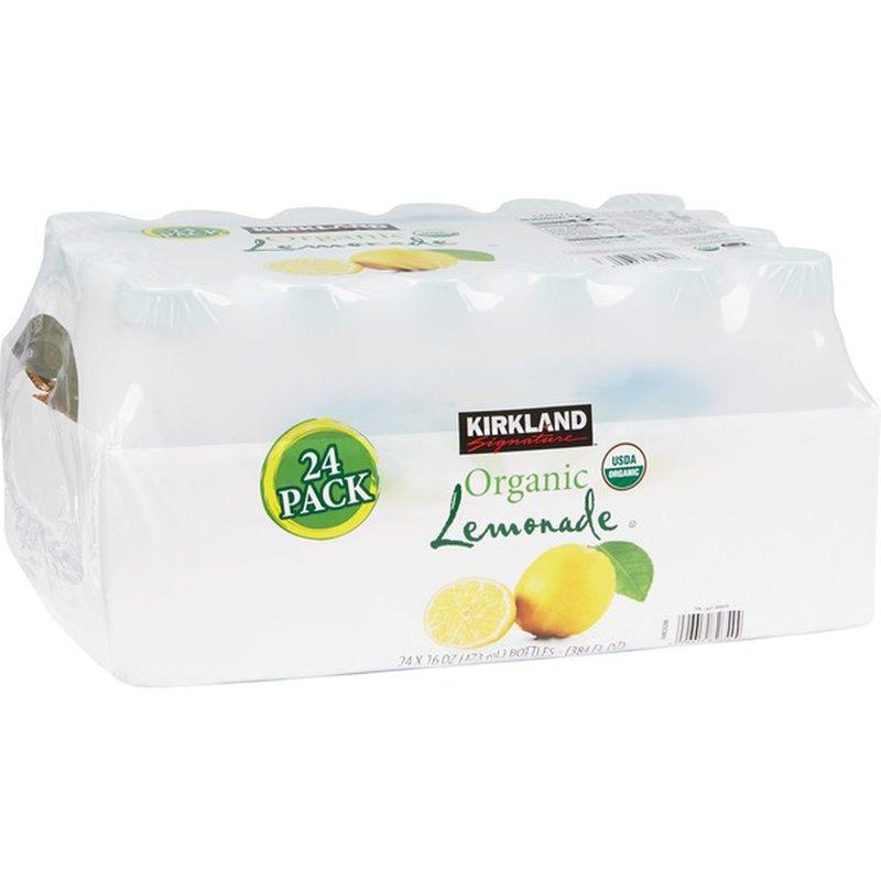 Kirkland Signature Organic Lemonade 24/16 Oz.
