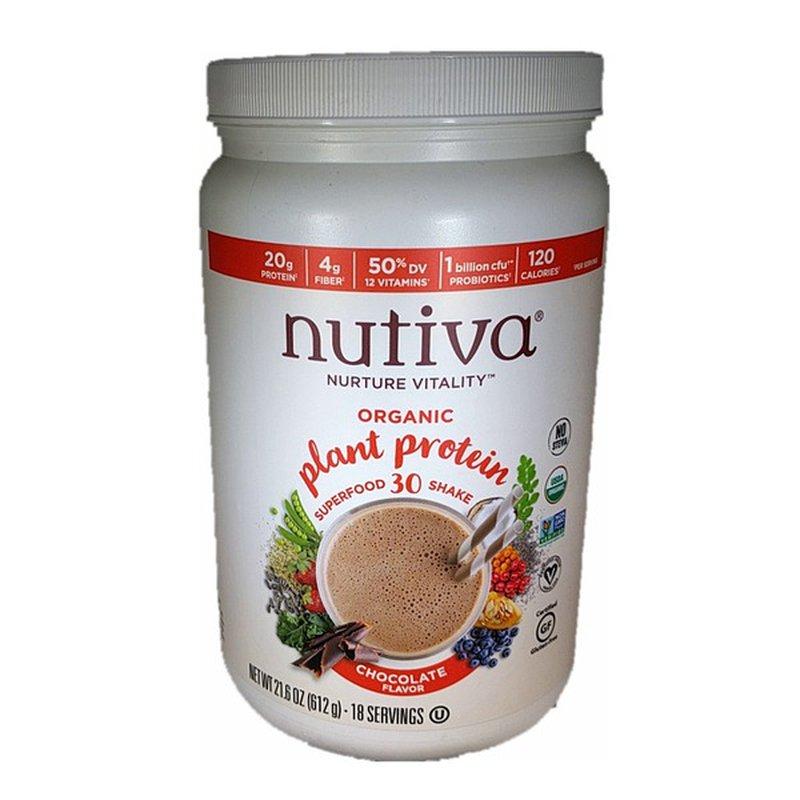 Nutiva Chocolate Organic Plant Based Protein