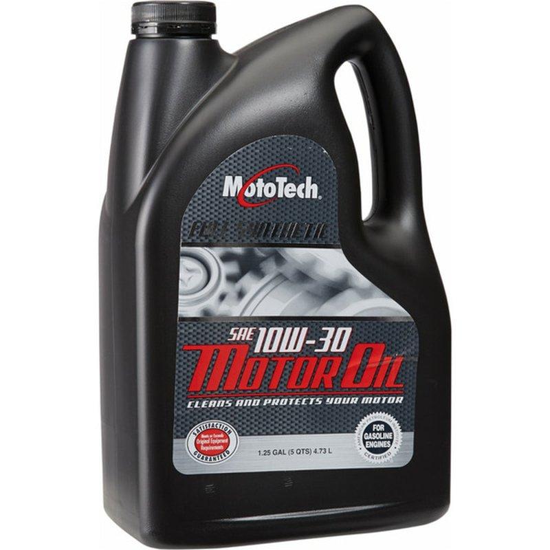 Moto Tech 10 W-30 SAE Full Synthetic Motor Oil