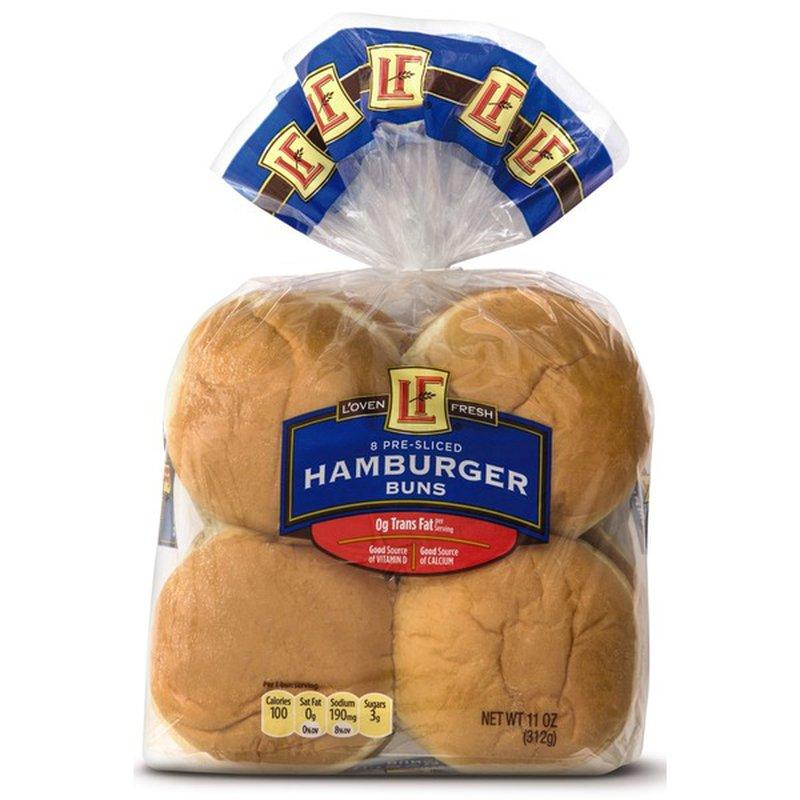 L'oven Fresh Hamburger Buns