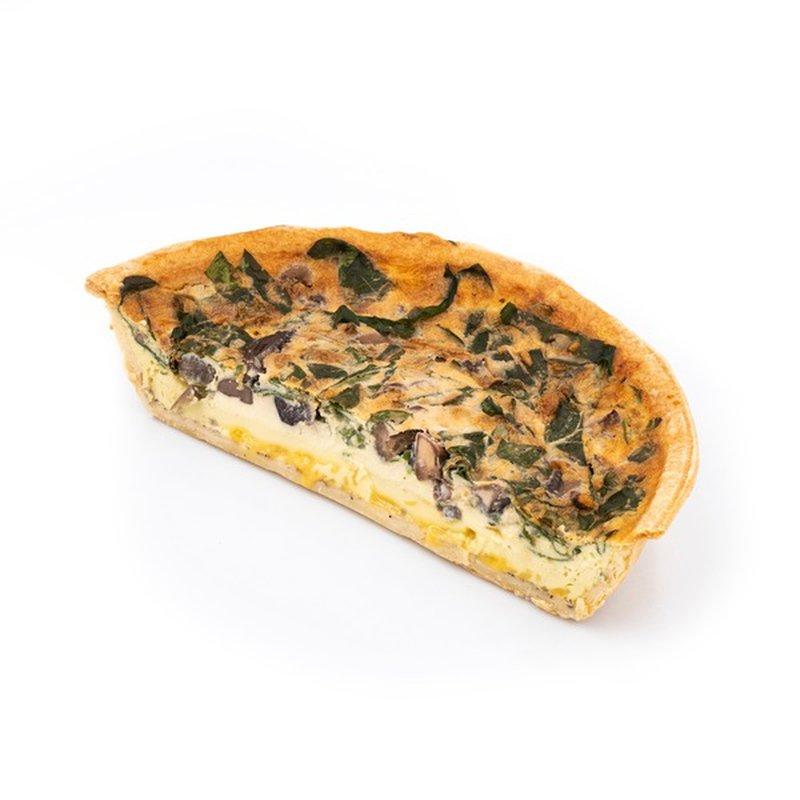 Half Vegetable Quiche