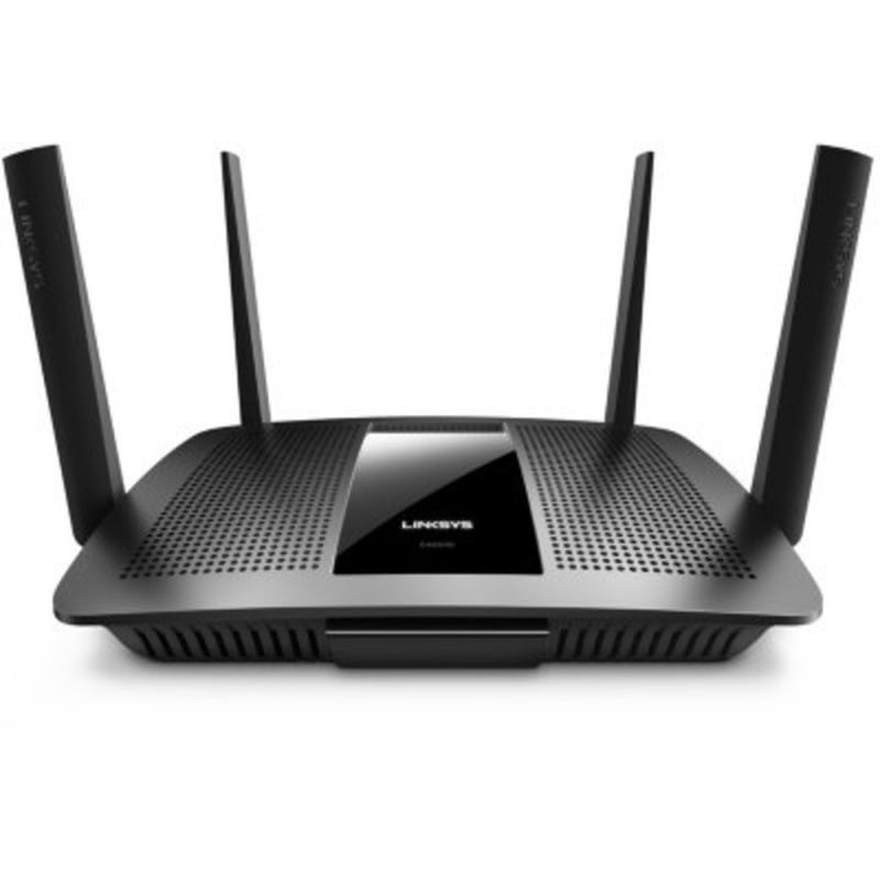 Linksys Ac2600 4 X 4 Mu Mimo Dual Band Gigabit Router With Usb 3.0 And E Sata Black (Ea8500)
