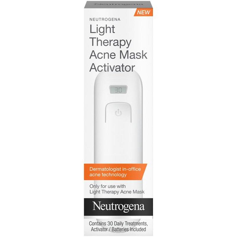 Neutrogena Light Therapy Acne Mask Activator 1 Ct Instacart