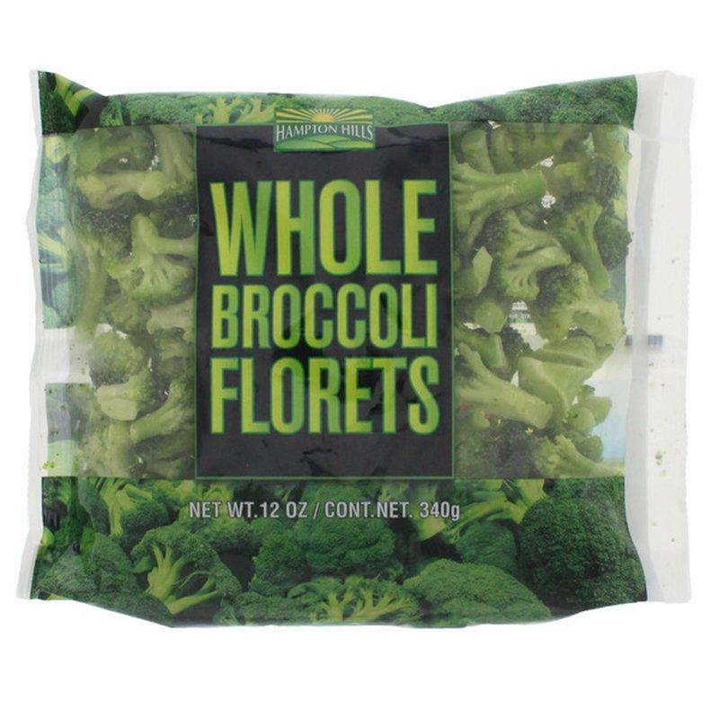 Hampton Hills Organic WHOLE BROCCOLI FLORETS