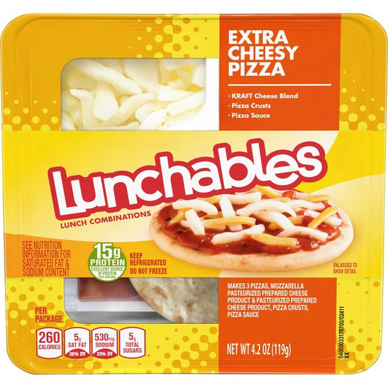 Lunchables Cheese Pizza Convenience Meal