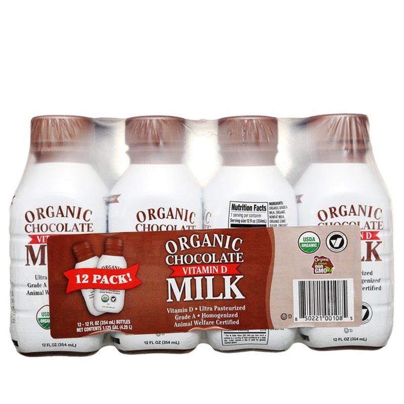 Organic Whole Chocolate Milk
