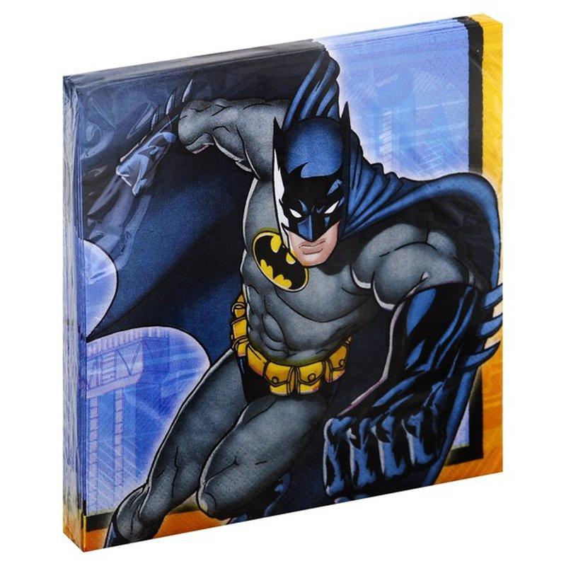 Design Ware Napkins, Batman, 2 Ply