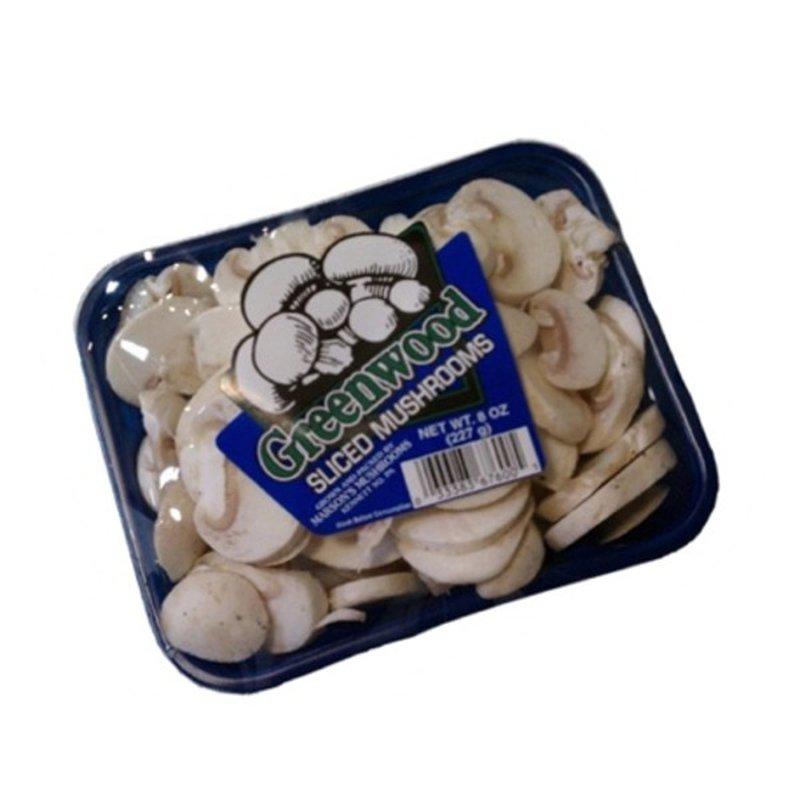 Greenwood Fresh Sliced White Mushroom