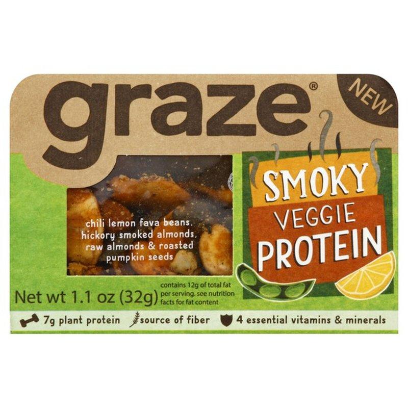 Graze Smoky Veggie Protein