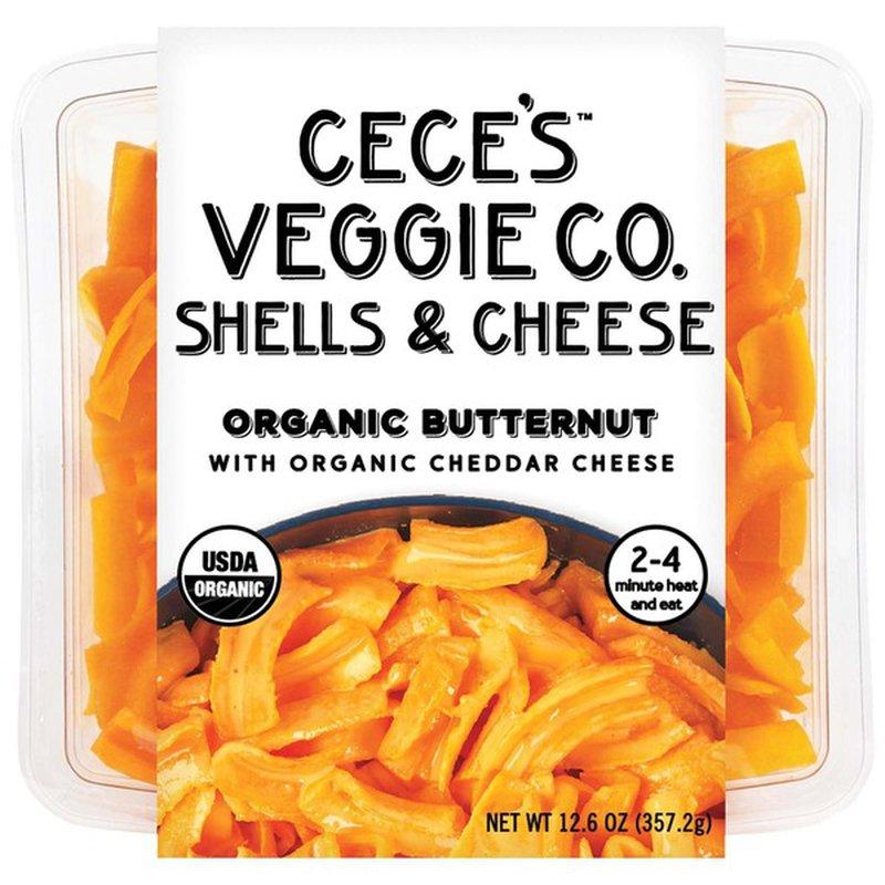 Cece's Veggie Co. Organic Shelled Butternut Squash Mac & Cheese Kit