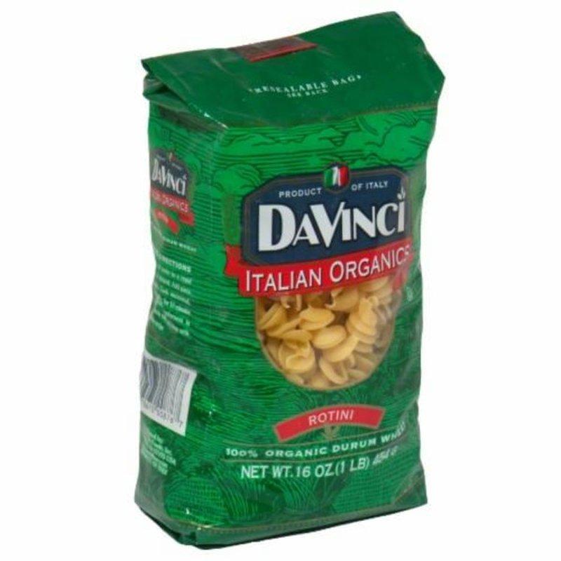 Davinci Italian Organics 100% Organic Durum Wheat Rotini Pasta