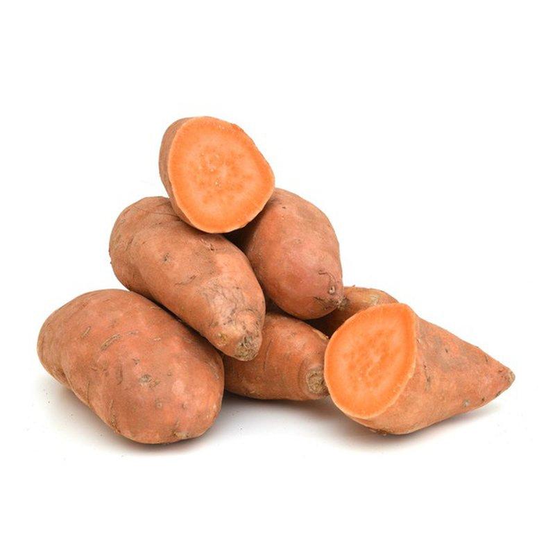 Organic Sweet Potatoes in Bag