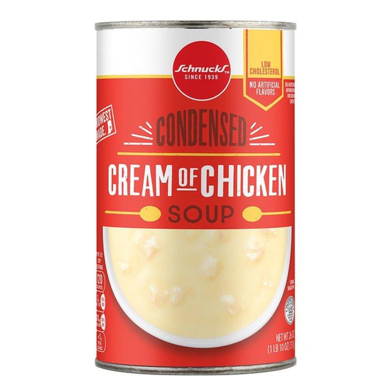 Schnucks Cream Of Chicken Condensed Soup