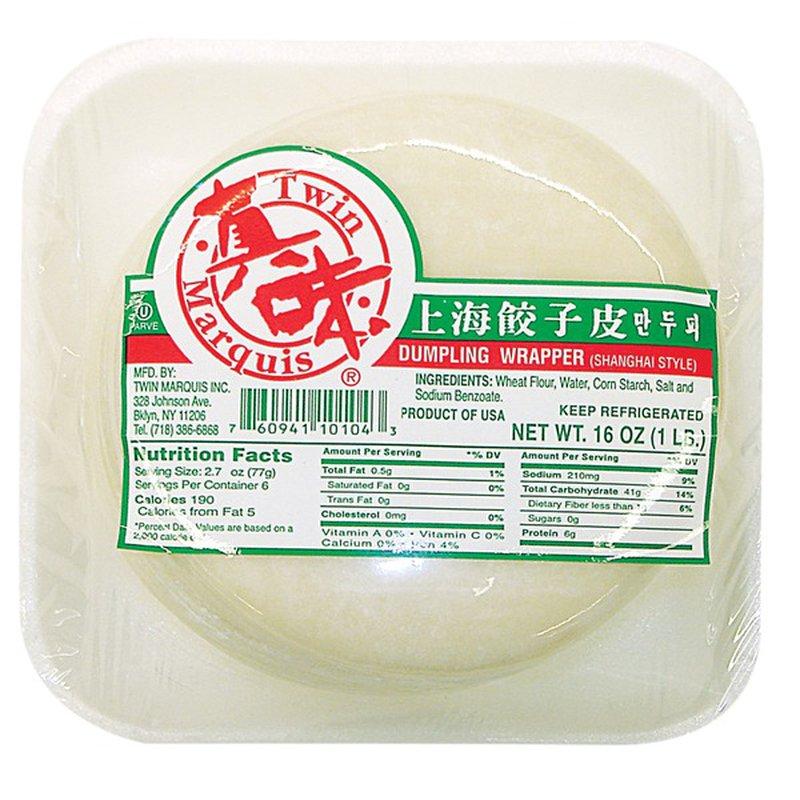 Twin Marquis Dumpling Wrapper (Shanghai Style)