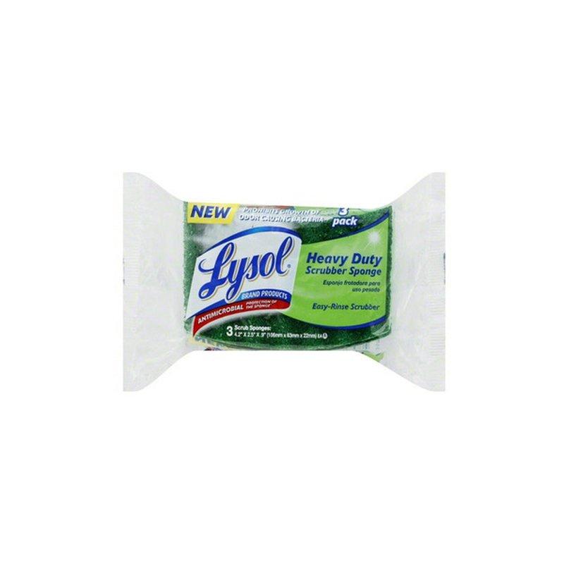 Lysol Heavy Duty Scrubbing Sponge