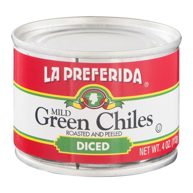 La Preferida Gluten Free Diced Green Chiles Mild